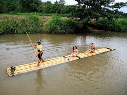 Chiangmai Elephant Home - 3 Days 2 Nights Elephant Experience - Bamboo Rafting