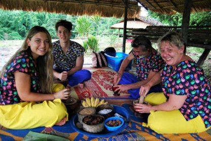 Chiangmai Elephant Home -Half Day Afternoon Elephant Experience - Make Vitamin Balls for your Elephants