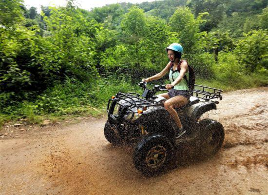 Chiangmai Elephant Home - One day Elephant Experience and ATV - ATV program