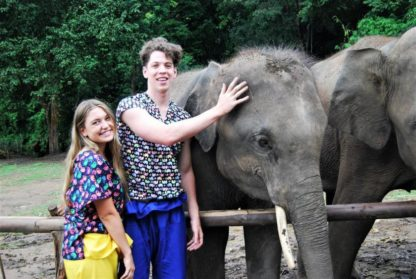 Chiangmai Elephant Home - One day Elephant Experience and ATV - Feeding Elephant