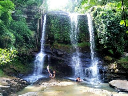 Chiangmai Elephant home - One Day Hiking and Elephant Experience - Enjoy your time at the Waterfalls