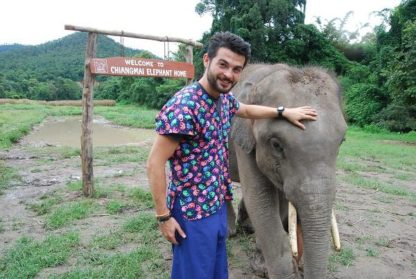 Chiangmai Elephant Home - One day Elephant Experience