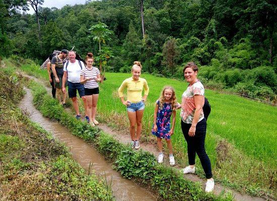 Chiang Mai Elephant Home - 18 Aug 2018 - Full Day Trekking & Elephants - Group photos