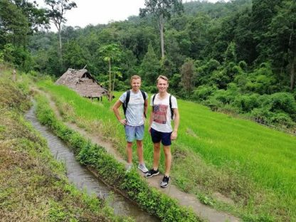 Chiang Mai Elephant Home - 23 Aug 2018 - Full Day Trekking & Elephants - Group photos