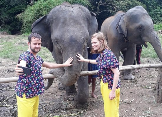 Chiang Mai Elephant Home - 29 Aug 2018 - Full Day Experience - Group photos
