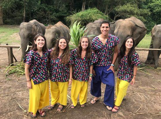 Chiang Mai Elephant Home - 10 Sep 2018 - Half day Morning - Group photos