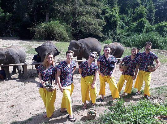 Chiang Mai Elephant Home - 11 Sep 2018 - Full Day Trekking & Elephants - Group photos