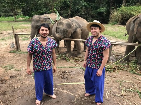 Chiang Mai Elephant Home - 20 Sep 2018 - Full Day Elephants & Grand Canyon - Group photos