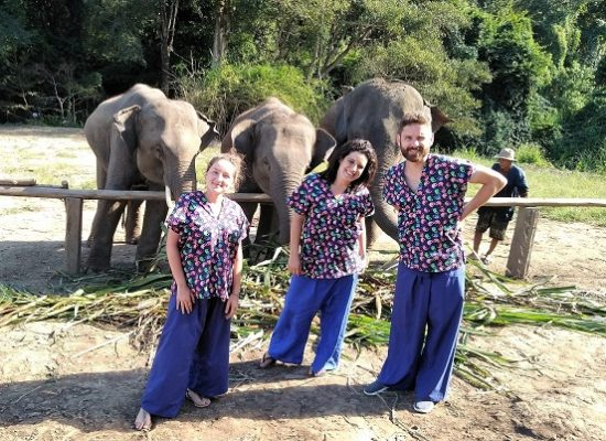 Chiang Mai Elephant Home - 20 Sep 2018 - Half day Afternoon - Group photos