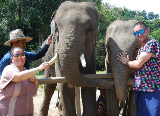 Chiang Mai Elephant Home - 23 Sep 2018 - Full Day Experience - Group photos