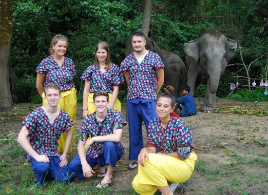 Chiang Mai Elephant Home - 3 Sep 2018 - Full Day Experience - Group photos