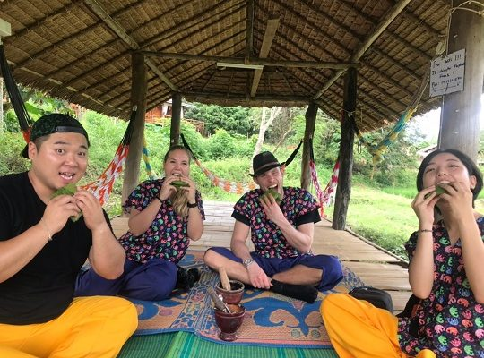 Chiang Mai Elephant Home - 12 Oct 2018 - Half day Afternoon & Full day Trekking and Elephants- Group photos