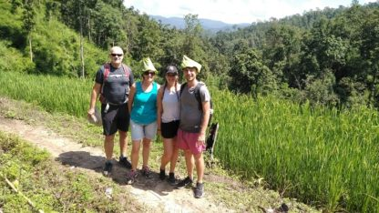 Chiang Mai Elephant Home - 14 Oct 2018 - Full Day Trekking & Elephants - Group photos1