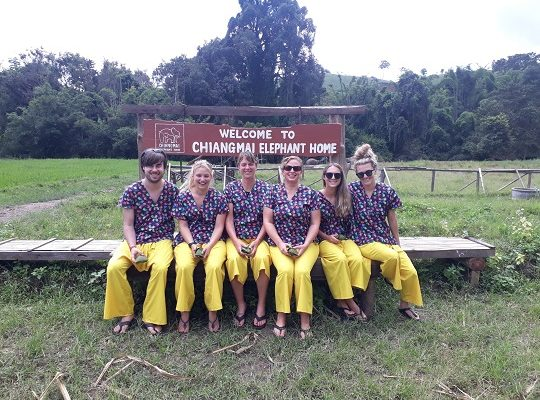 Chiang Mai Elephant Home - 2 Oct 2018 - Full Day Experience - Group photos