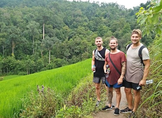 Chiang Mai Elephant Home - 3 Oct 2018 - Full Day Trekking & Elephants - Group photos