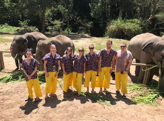 Chiang Mai Elephant Home - 30 Sep 2018 - Full Day Experience - Group photos