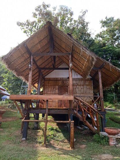 Chiang Mai Elephant home - Bamboo House - บ้านไม้ไผ่ - Maewang