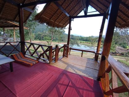 Chiang Mai Elephant home - Bamboo House - บ้านไม้ไผ่ - Maewang - Balcony