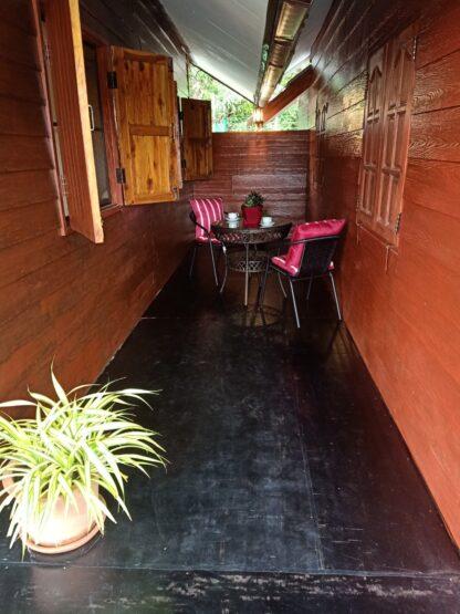 Chiang-Mai-Elephant-home-Family-House-Maewang - balcony